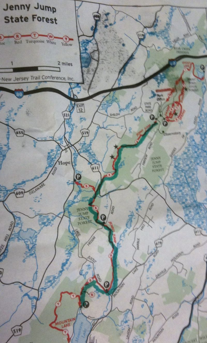 Jenny jump new trail map