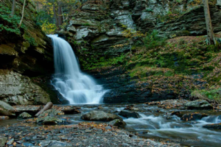 NJ Photography Classes- waterfalls - bushkill falls pa.
